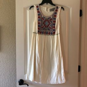 Double D Ranch embroidered dress